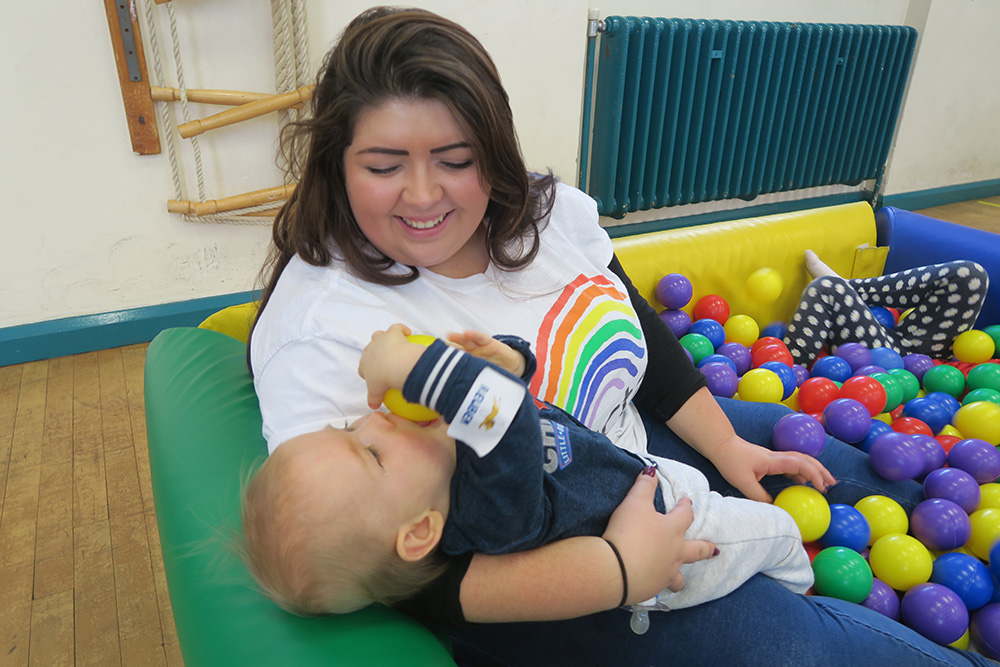 volunteer at our early years activity