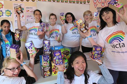 Volunteering with VICTA