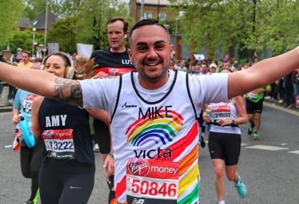 21 London Marathon