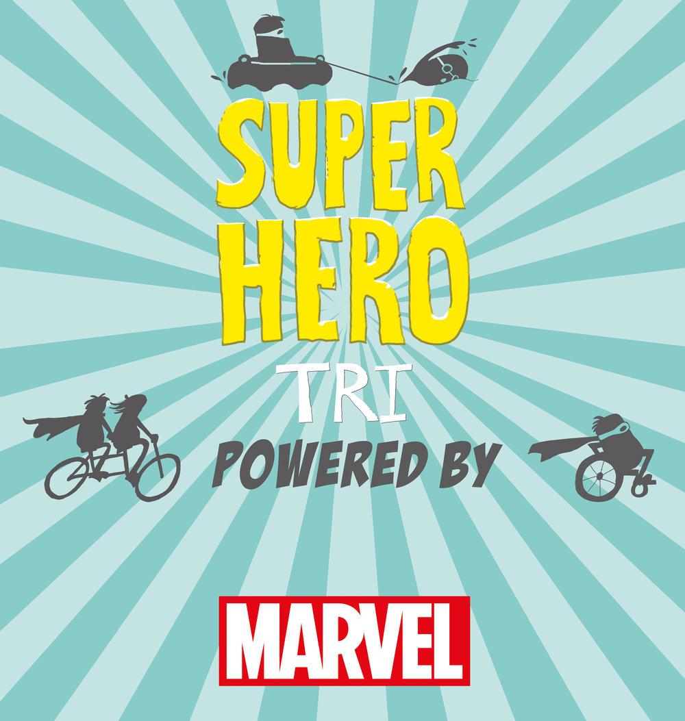 Superhero tri