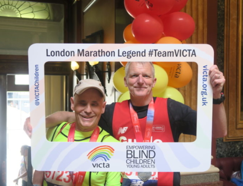 Advice from runners who are blind or partially sighted on running the London Marathon