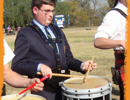 Have you thought about… playing in a marching band?