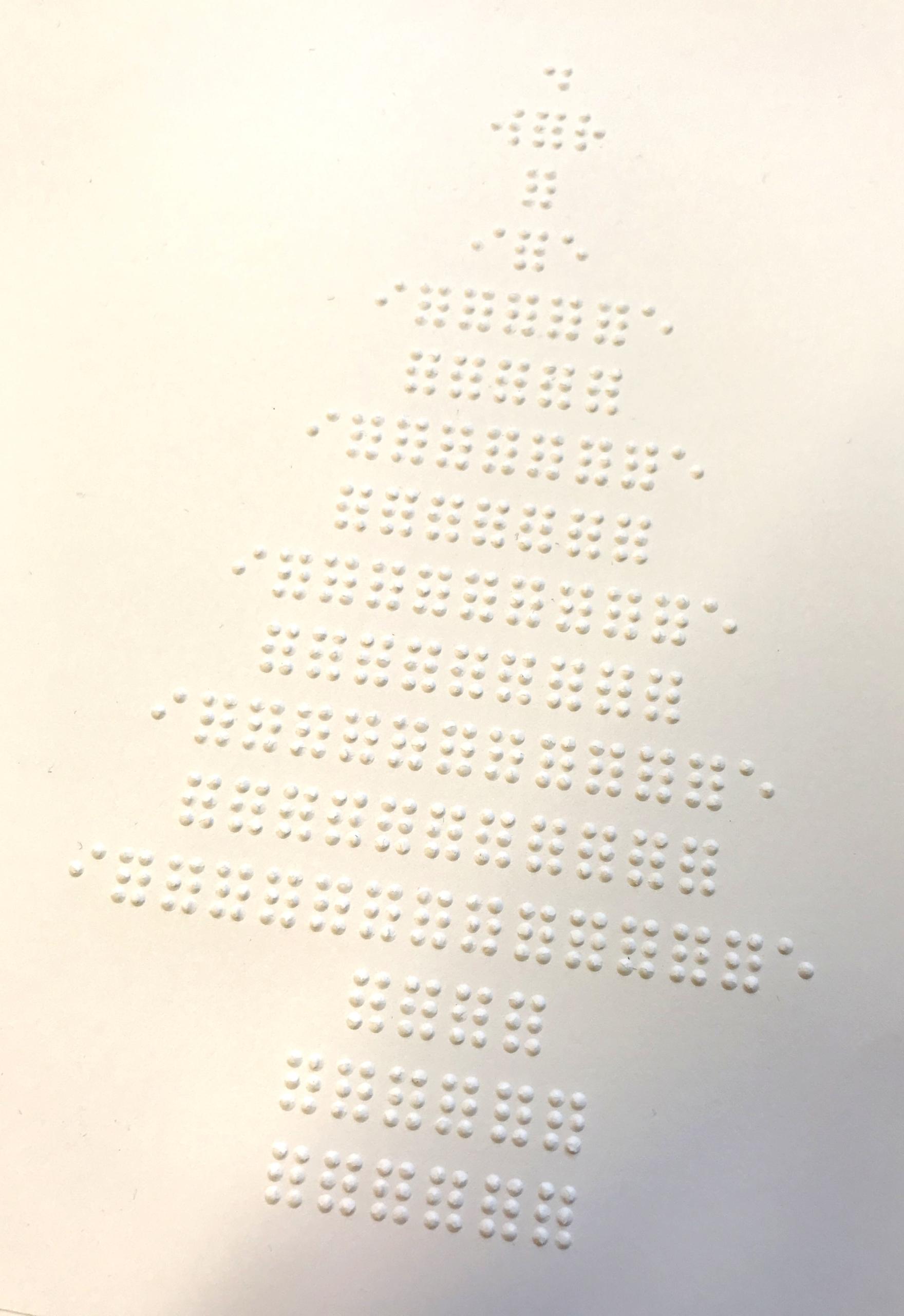 Braille tree