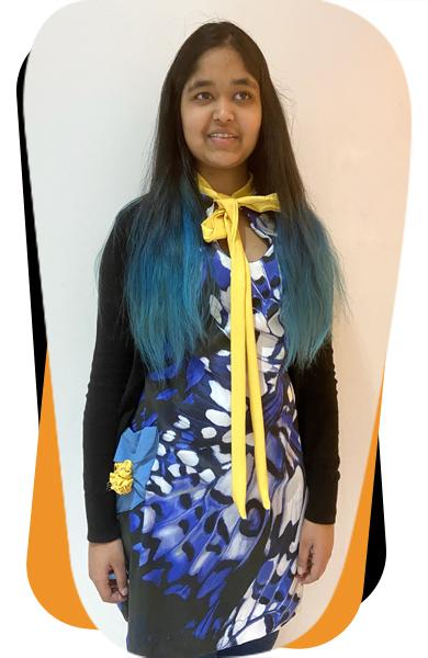 Ruqaiya's dress design