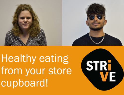 Healthy eating from your store cupboard